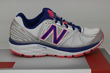 Women's New Balance Running 770 V5 White/Silver/Blue/Pink Size 7 W770WB5 New
