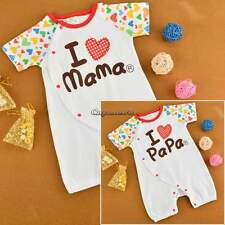 Bodysuit Baby Romper Suit Jumpsuit Infant Toddler Adorable Clothes 0~2Yrs CaF8