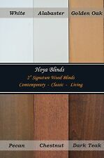"""2"""" Signature Real Wood Blinds - Width From 6"""" ~ 72"""",    Factory Custom - Made"""