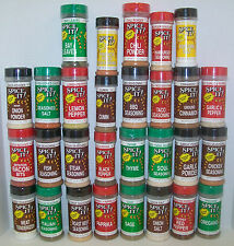 SPICE IT! Seasoning Spices. Over 70 Flavors to choose from. Self-Select!   (A-L)