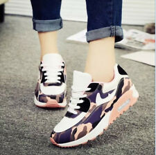 Fashion Women New Girl Lace Up Casual Comfort Floral Sport Sneaker Boots AU Size
