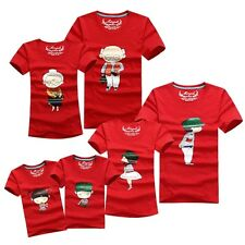 1PC Couple Family Grandparents Parents Children 6People Clothing Lover T-Shirts1