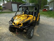 Can am Commander graphics wrap deco kit for 800 1000 R XT #9500 Yellow Zombie