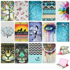Double Sides Pattern Protective Case Cover Stand Card Slot For Samsung Tablet A