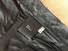 FW03 DIOR HOMME luster leather JEANS by hedi slimane. sample ! size 46
