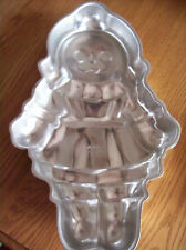 WILTON VINTAGE RAGGEDY ANNE DOLL SHAPED CAKE PAN, #502-968, 1971, CUTE