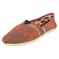 SALE Mens Red Canvas canvas shoes WAS £12.99 NOW £5.99