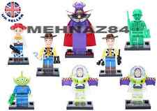 Toy Story, Woody, Buzz Lightyear blocs de construction briques mini-figures toys