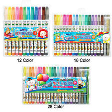 AMOS Water-Based Colored Scented Coloring Felt Tip Pens - 12/18/24 Colors - Pick