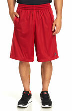 New Adidas MENS Basketball Gym Workout Mesh Triple Up 2.0 Shorts Red SZ M L  XL
