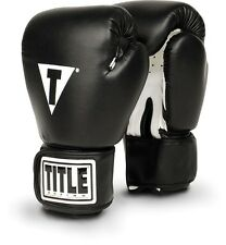 Title Fitness Boxing Gloves - Black