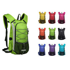 12L Outdoor Waterproof Cycling Bicycle Backpack Rucksack Hydration Water Bag
