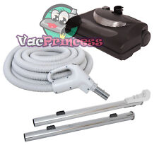 35' Central Vacuum Kit w/Hose, Power Head & Wands Beam Nutone Electrolux Kenmore