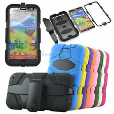 Builders Heavy Duty Shockproof Rugged Hybrid Tough Case Cover for Samsung + Belt