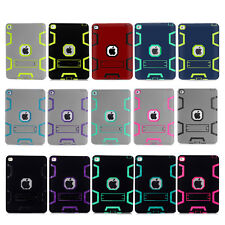 ShockProof Heavy Duty Hard Case Stand Cover Skin for Apple iPad 2 3 4 Air 2 Mini