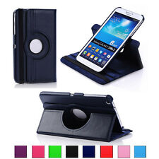 360 Rotating PU Leather Folio Case Cover Pouch Stand for Samsung Galaxy Tablet