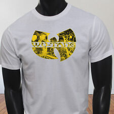 Rap Hip Hop Gza Rza ODB WU TANG CLAN COMICS Mens White T-Shirt
