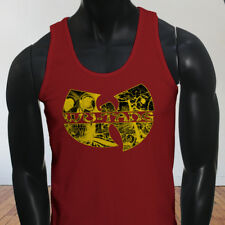 Rap Hip Hop Gza Rza ODB WU TANG CLAN COMICS Mens Red Tank Top