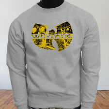 Rap Hip Hop Gza Rza ODB WU TANG CLAN COMICS Mens Gray Sweatshirt