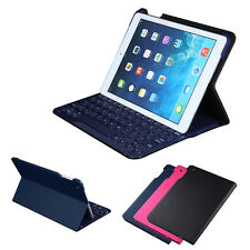 Slim Wireless Bluetooth Keyboard Case PU Leather Cover Hostler for iPad Air 1 2