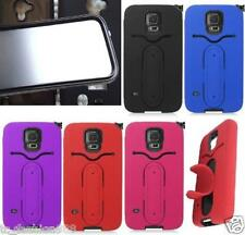 BUILT IN SCREEN PROTECTOR Phone Cover Dual Layered Case For Samsung Galaxy S5