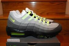 "2015 Nike Air Max 95 OG ""Neon"" Cool Grey 554970-071 Size 8-13"
