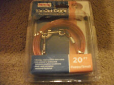 NIB - Petco dog tie-out cables (under 25lbs and under 50lbs) 20 ft