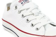 Converse Ox Low Top All Star Chucks Optical White Mens Womens Shoes Size 4-13