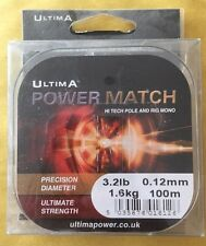 ULTIMA POWER MATCH LOW DIAMETER STRONG LINE ALL SIZES