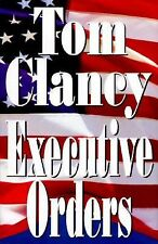 Hardcover Book Executive Orders, by Tom Clancy