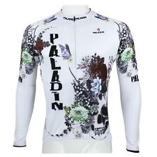 Paladin New Mens Long Sleeve Cycling Jersey Bike Clothing Cycle Wear S-4XL #091