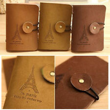 2015 HOT Retro Purse Eiffel Tower Credit Business ID Card Holder Wallet Bag Case