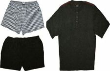 JOCKEY JERSEY SHORT PYJAMA WITH COMPLIMENTARY WOVEN SHORTS, 2XL TO 6XL