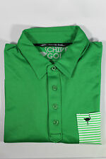Travis Mathew - 'The Chive' Golf Polo - Large  - Green