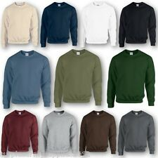 ARMY PLAIN SWEATSHIRT 11 COLOURS BRITISH MILITARY CADET JUMPER MENS FISHING