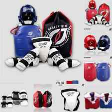 Adult Child Karate MMA Taekwondo Sparring Grear Set Kicking Pad Shield Target