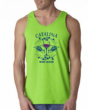 186 Catalina Wine Mixer Tank Top funny helicopter party brothers step movie new