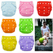 Kids Infant Reusable Washable Baby Cloth Diapers Nappy Soft Cover Adjustable