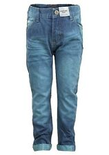 Respect Boys Denim Turquoise Jeans 3 - 8 Years
