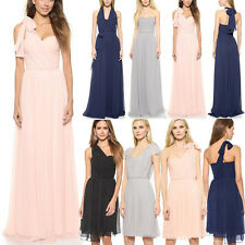 Women Sleeveless Party Cocktail Long Maxi Dress Convertible Infinity Swing Dress
