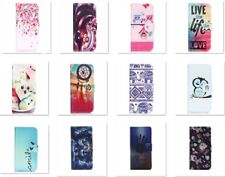 FASHION MAGNETIC FLIP WALLET LEATHER CASE  WITH CARD HOLDER STAND FOR PHONES