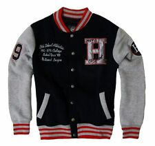 NWT New Mens Cotton College Varsity Baseball Jacket Coat