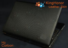 New KH Special Laptop carbon leather skin cover Protector For HP 15g-ad002tx