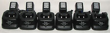 6 BC-146 Chargers For Icom Radios : IC-F11 IC-F21 IC-F30 : 60 Day Warranty BC146