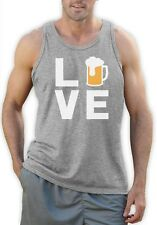 I Love Beer - Gift Idea for Beer Drinkers - Cool Pub Singlet Novelty Present