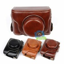 Detachable Leather Camera Protect Case Bag Strap For Fujifilm Fuji X30【US】