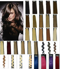 """Remy A Or A+ 50G 20PCS Straight Wavy 16""""18""""20""""22 Tape In Human Hair Extensions"""