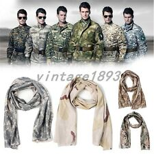 Special Forces Army Military Tactical Shawl Camouflage Breathable Scarves New