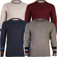 Mens Tokyo Laundry Jack Knitted Stripe Long Sleeve Pullover Jumper Top Size S-XL