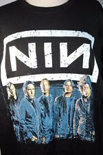 Nine Inch Nails NIN Trent Reznor 2013 Black 2 Sided Tour Shirt NWOT Sz S M L